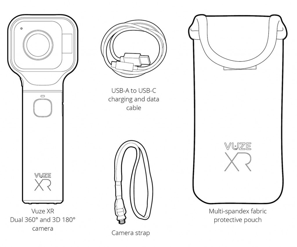 Learn how to use the Vuze XR camera with the Vuze XR user manual